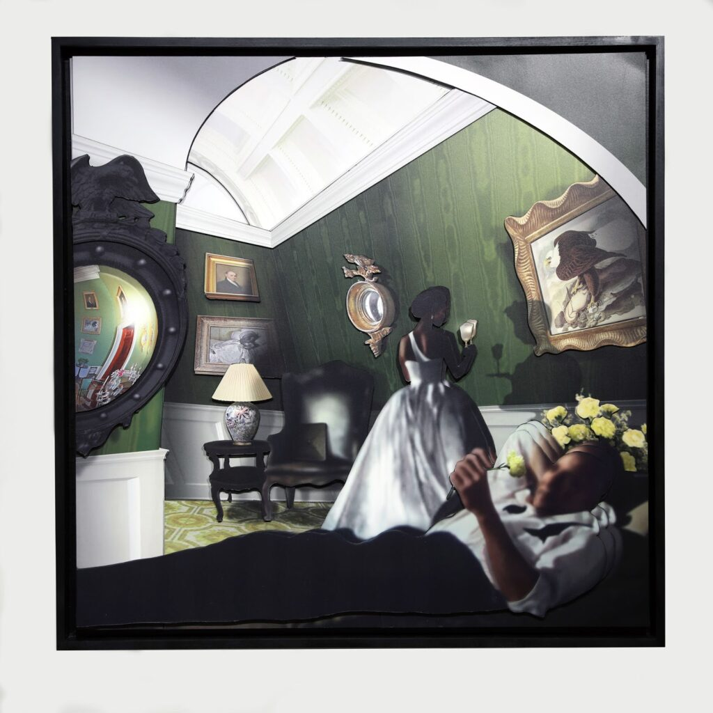 TheGreenRoom 1024x1024 - Ron Norsworthy: Interior Dialogue June 12th – August 14, 2021 at Long Gallery Harlem